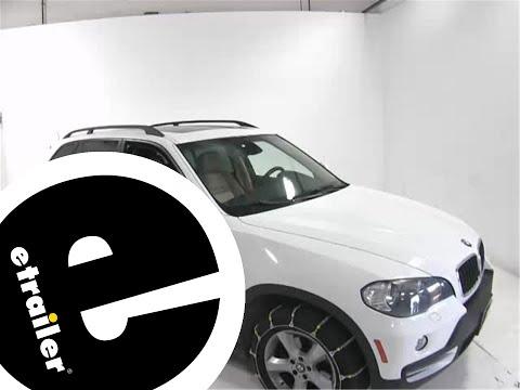 Best 2015 BMW X5 Tire Chain Options - etrailer.com