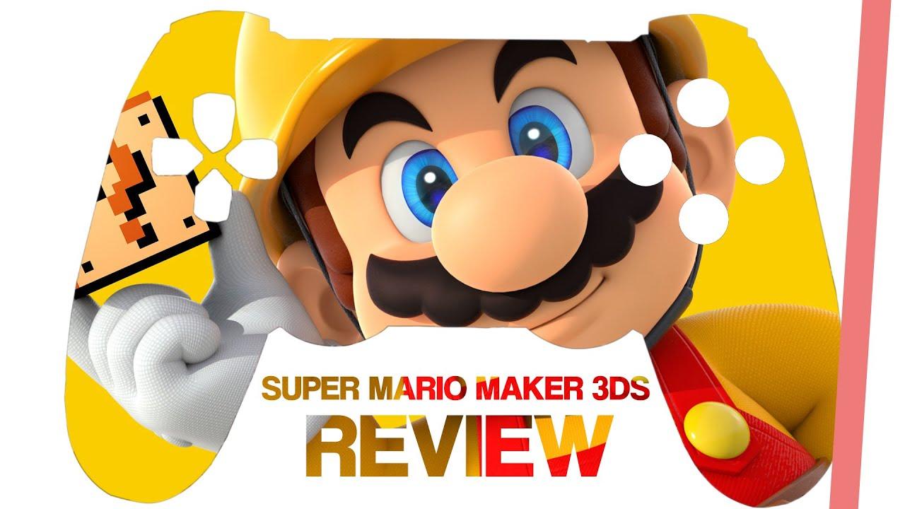 Download Super Mario Maker 3DS im Review   Level-Baukasten für unterwegs