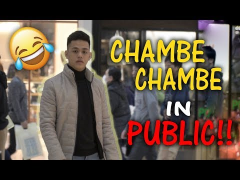 CHAMBE CHAMBE DANCE IN PUBLIC!! Ft. Alex Gonzaga | Japan Vlogs