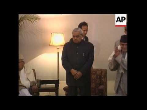 INDIA: PM VAJPAYEE HAS AIRPLANE HIJACKING EVIDENCE (2)