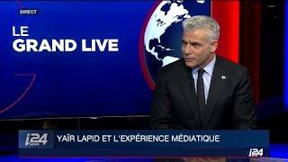 Baixar Yaïr Lapid invité de l'émission Le Grand Live sur i24NEWS