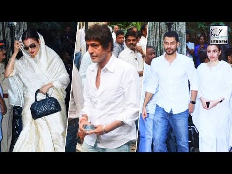 Celebs At Shashi Kapoor's Prayer Meet | LehrenTV