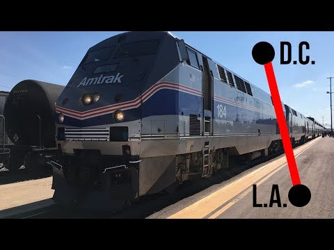 ACROSS THE COUNTRY BY AMTRAK! DC-LA!
