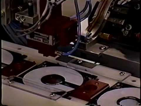 Floppy Disc Assembly Line