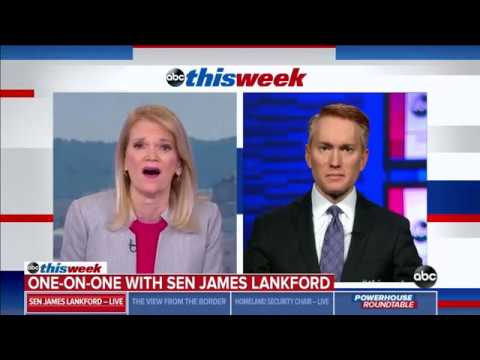 Senator Lankford Joins ABC News This Week to Discuss Reopening the Government