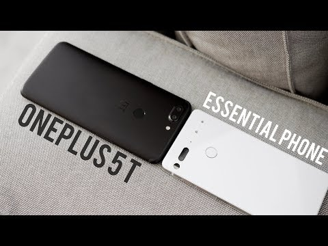 OnePlus 5T vs Essential Phone Full Comparison with Camera Test!