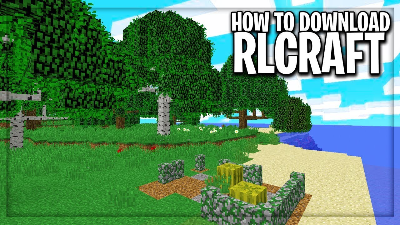 How to Download Play the New RLCraft Modpack (NEW REAL LIFE
