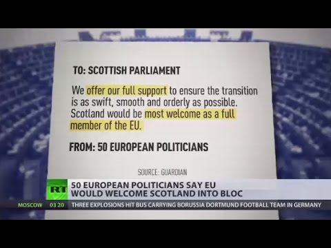 Independent Scotland would be 'most welcome' in EU – MEPs