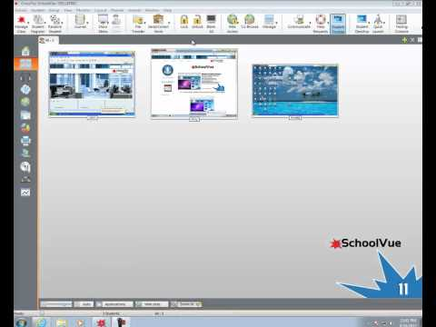 Lock Students Screens with CrossTec SchoolVue