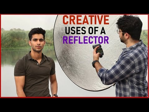 How to USE a REFLECTOR for Outdoor Portrait Photography (Hindi)