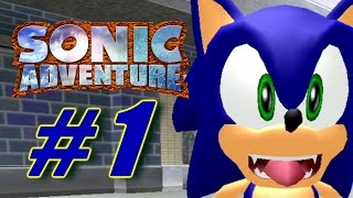 Sonic Adventure Let's Play 1/X [60FPS] (Sonic Month)