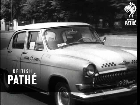 Moscow Taxi Drivers Competition   (1969)