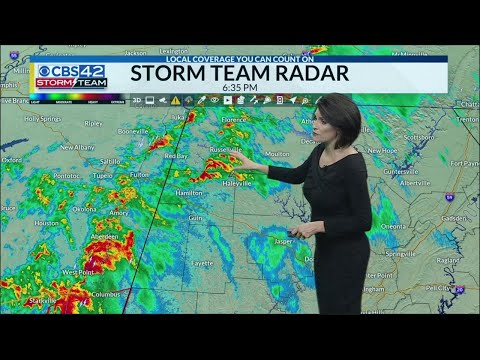 Tornado warning in Mississippi near state line – Alabama Alerts