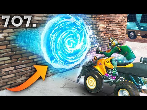 *NEW* WALL SKIPPING GLITCH..!! Fortnite Funny WTF Fails and Daily Best Moments Ep.707