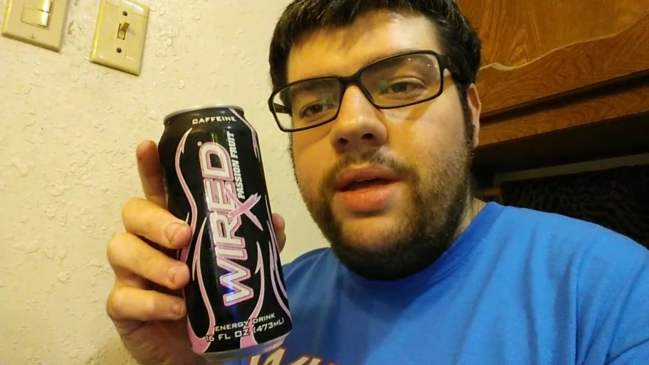 Deadcarpet Energy Drink Reviews - Wired X-Passion Fruit Extreme ...
