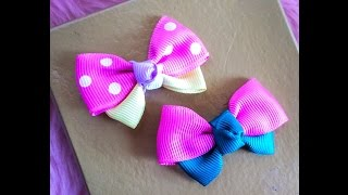 Pink ribbon: width: 1 inch, length: 5 inches Green ribbon: width: 1...