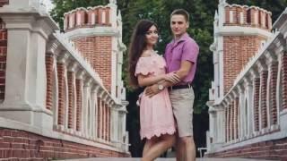 Красивая фотосессия в Царицыно. Слайдшоу для показа на свадебном банкете.