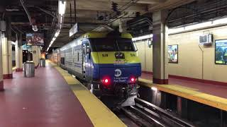 LIRR HD 60fps: Pair of Trains (EMD DM30AC & Budd M3) @ New York Penn Station (3/29/19)