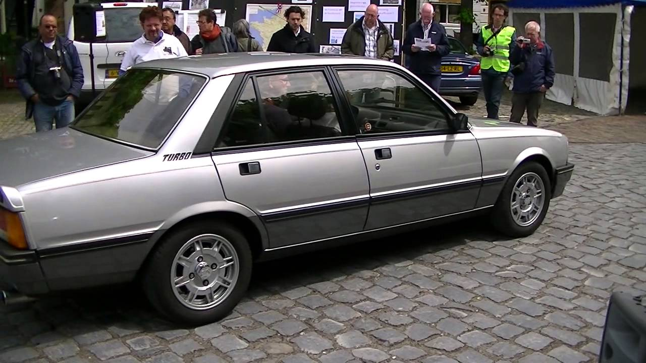 car spotting 1985 peugeot 505 turbo injection youtube. Black Bedroom Furniture Sets. Home Design Ideas