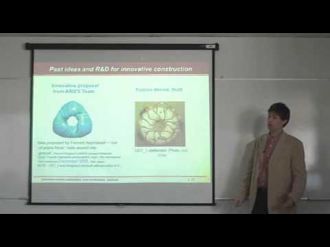 Presentation 'Innovative reactor stellarators and construction methods'