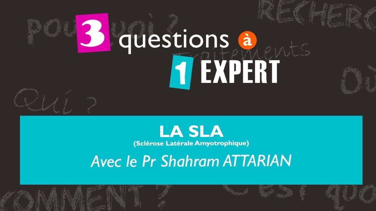 3 questions à 1 expert : la SLA (Sclérose Latérale Amyotrophique)