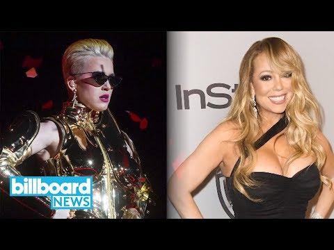 Mariah Carey Tweets 'Mean Girls' Quote in Response to Katy Perry | Billboard News