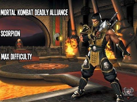 Mortal Kombat Deadly Alliance - Scorpion - Max Difficulty