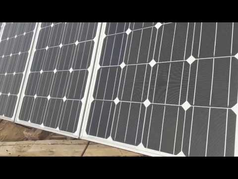 900W Solar Power System In Gujranwala Pakistan.(Renewable Energy)