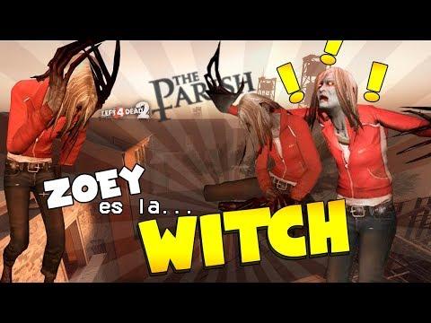 ZOEY es la WITCH !!! #RetosEstúpidos en Left 4 dead 2