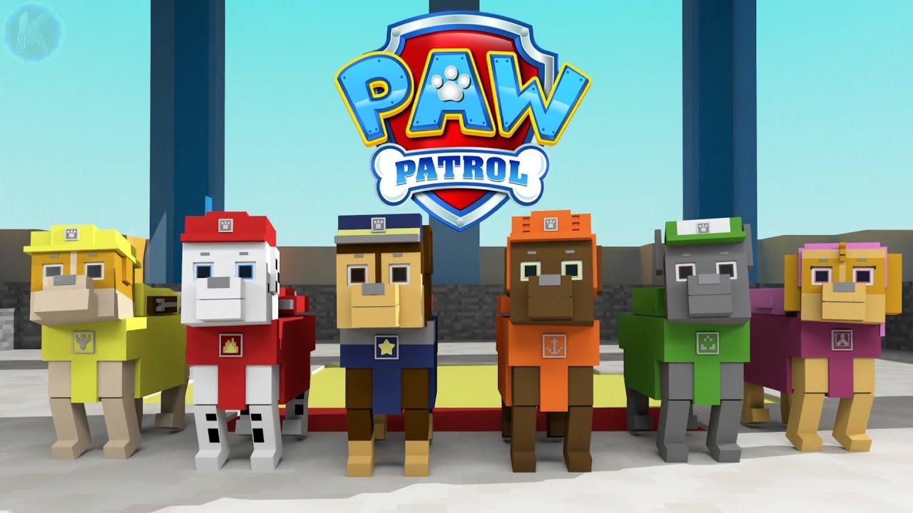 PAW Patrol Minecraft Animation