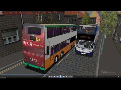 Omsi 2 tour (706) UK Westcountry 35 Paignton - Totnes Railway Station @ NWFB volvo Super Olympian