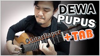 (Dewa) Pupus - Classical Fingerstyle Guitar Cover w/TAB - Stafaband