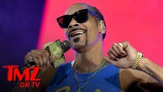 Snoop Dogg's 50th Birthday Party, Fully Lit Old School Playas Ball | TMZ TV