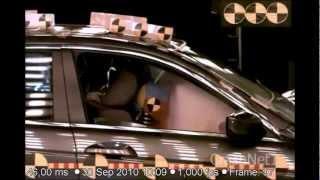 Honda Accord   2012   Frontal Crash Test   NHTSA High Speed Camera   CrashNet1