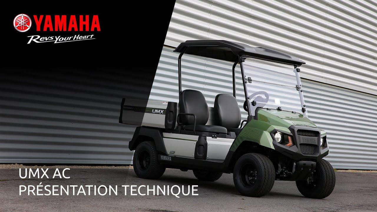 Yamaha UMX AC – Présentation Technique