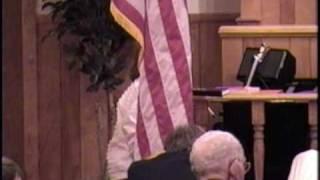 Consider The Lillies - Mount Carmel Baptist Church Choir, Fort Payne Alabama April 2003