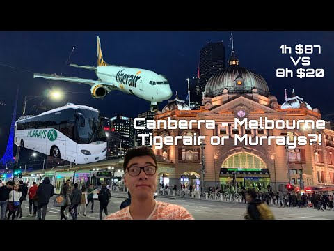 Tigerair Or Murrays Coach? Travel Between Canberra And Melbourne, Bus Or Plane? Which One's Better?