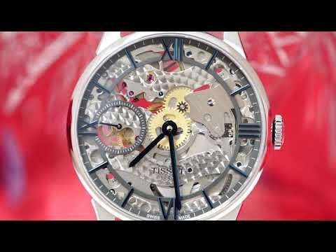 스켈레톤 시계 접사