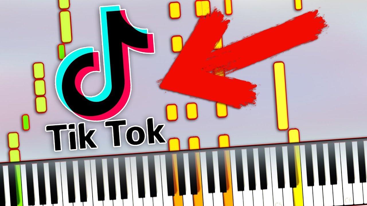 Tiktok Meme Songs Medley Piano Tutorial Sheet Music Midi Synthesia Cover Youtube