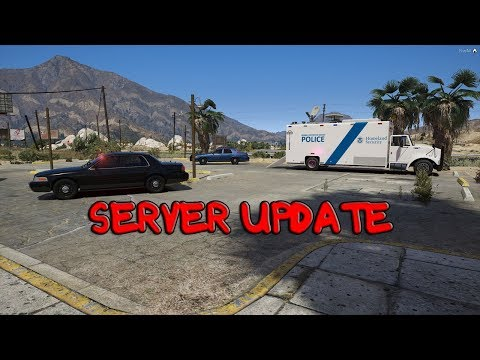 GTA 5 ROLEPLAY - SERVER UPDATE - HIRING ALL OFFICER POSITIONS!