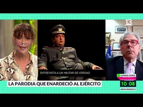 La parodia que enojó al ejército. Bienvenidos, Canal 13.