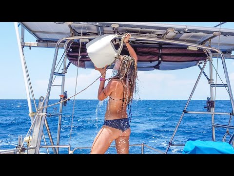 LOOK what you're MISSING OUTSIDE! Sailing Vessel Delos Ep. 242