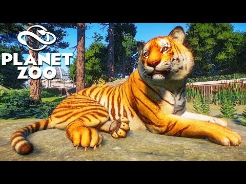 [LIVE?] Building A HIGH SECURITY Zoo for DANGEROUS Animals - Planet Zoo Building Tycoon Gameplay - 동영상