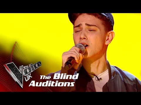 Harri Oakland Performs Say You Wont Let Go: Blind Auditions  The Voice UK 2018