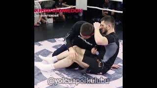 Khabib Nurmagomedov'un Leg Mount Tekniği ( Türkçe Anlatım )