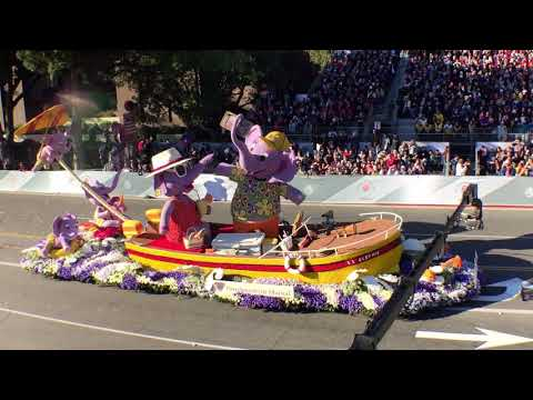 Northwestern Mutual, the official sponsor of the 2019 Tournament of Roses Parade Pasadena California