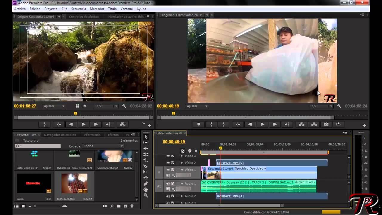 Adobe Premiere Pro Aprender A Editar Vídeos Nivel Principiante Youtube