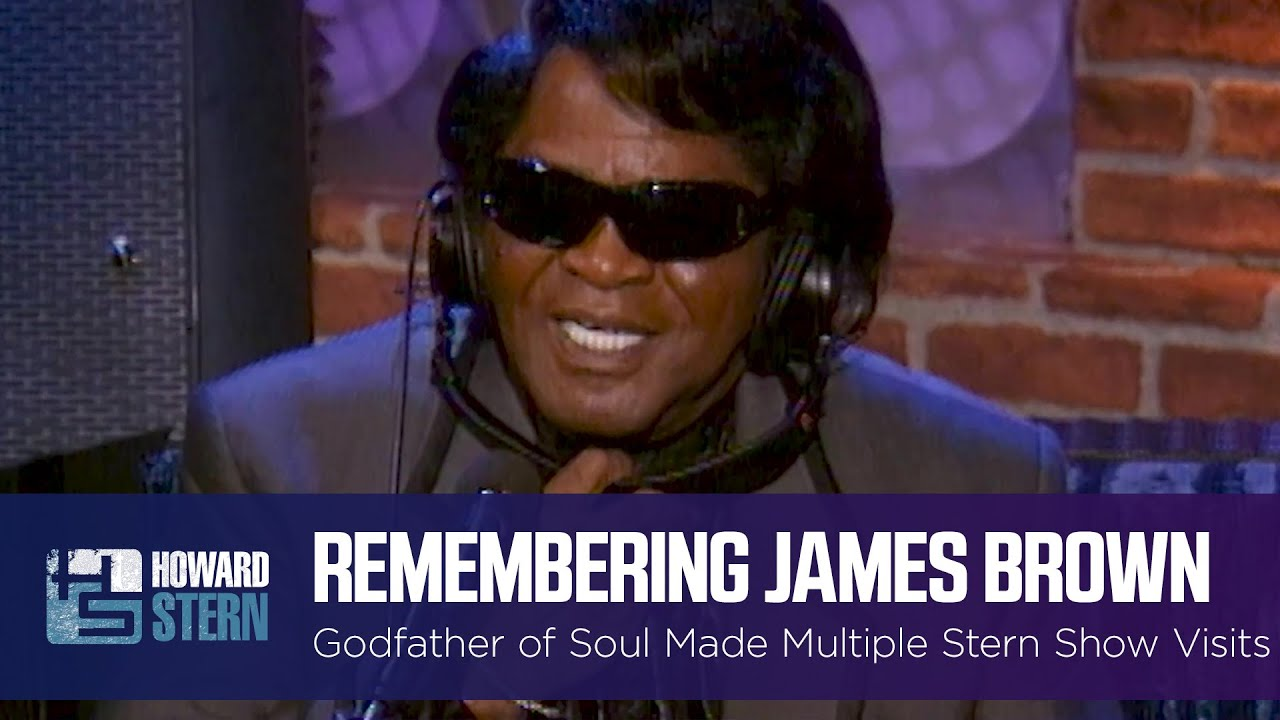 Howard Stern Remembers James Brown on the Stern Show