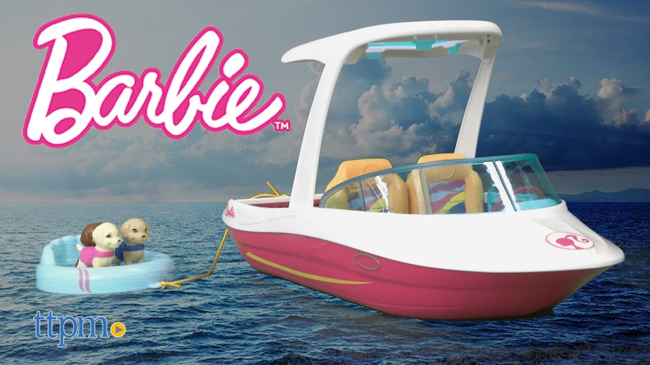 Barbie Dolphin Magic Ocean View Boat From Mattel Youtube