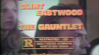 The Gauntlet 1977 TV trailer